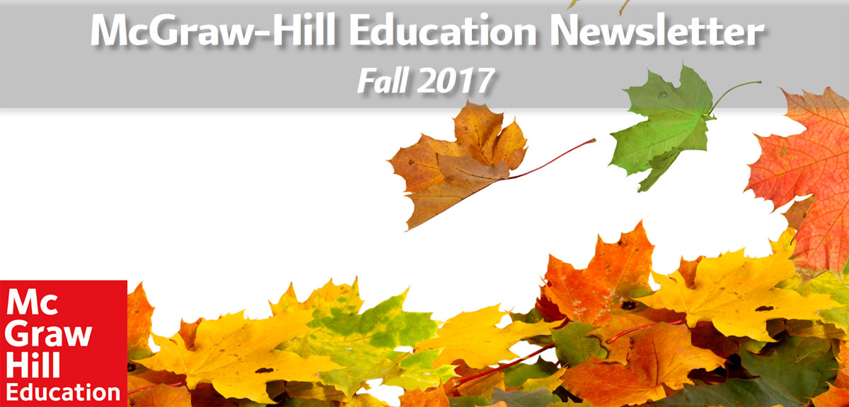 McGraw-Hill Newsletter Fall 2017