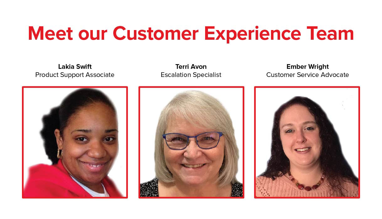 Behind the Cube: Customer Experience Team