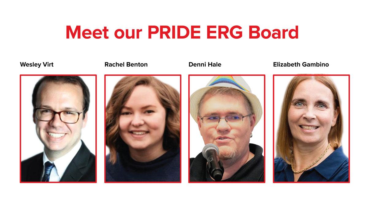 Meet our Accessibility Team: Emilie Berglund, Erin Evans, Juanita Thompson, Lisa Nicks, Yolanda Pigden