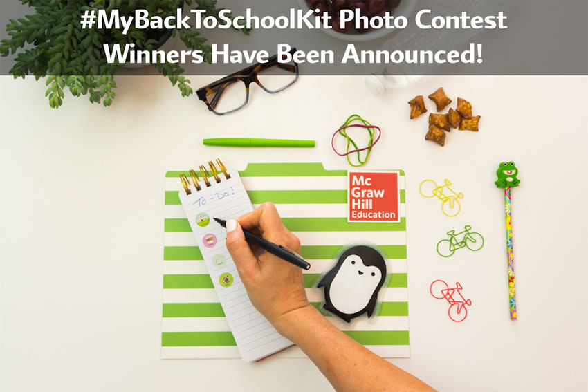 #MyBackToSchoolKit Winners