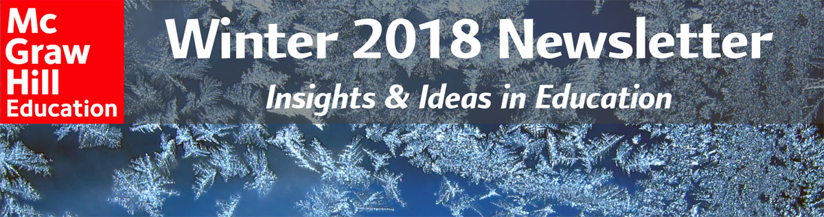 Winter 2018 Newsletter Banner