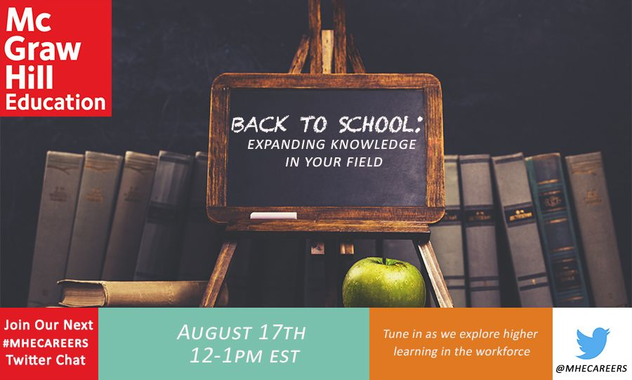 McGraw-Hill August Twitter Chat