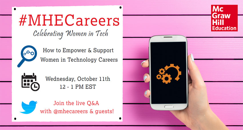 Celebrating Women in Tech Live Chat