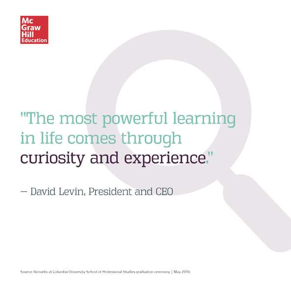David Levin's Quote for Columbia SPS