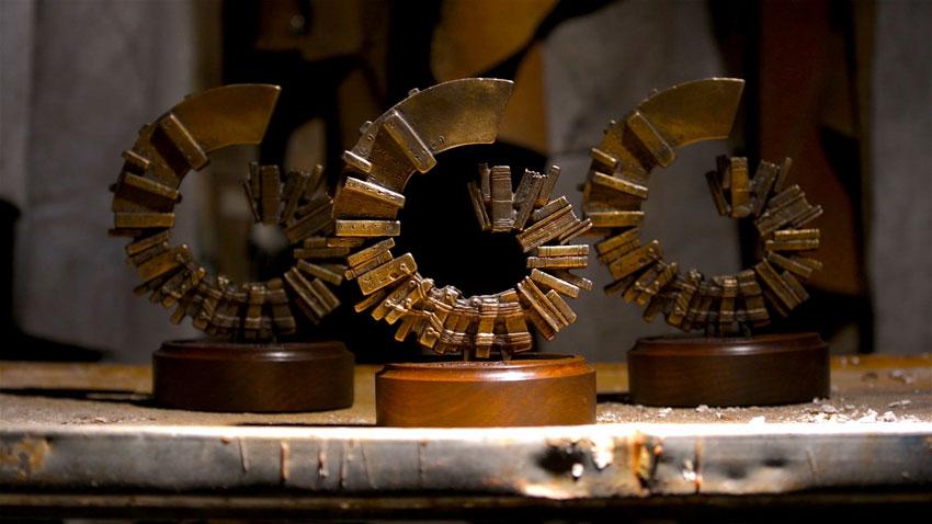 McGraw Prize Sculptures