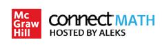 ConnectMath Hosed by ALEKS Logo