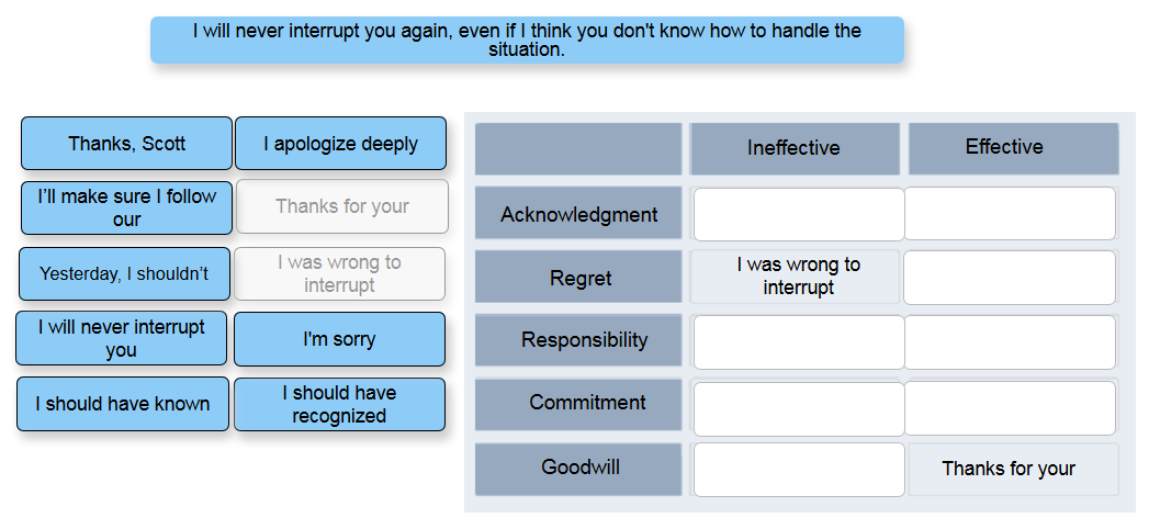 interactive applications
