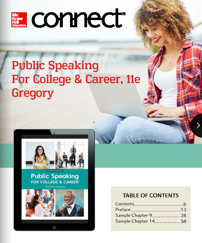 Public Speaking For College & Career, 11e Gregory