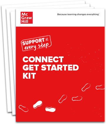 Stack of pages with the title Connect Get Started Kit