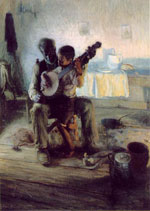 The Banjo Lesson, Henry Ossawa Tanner, 1893