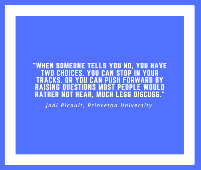 Inspiring Quote by Jodi Picoult