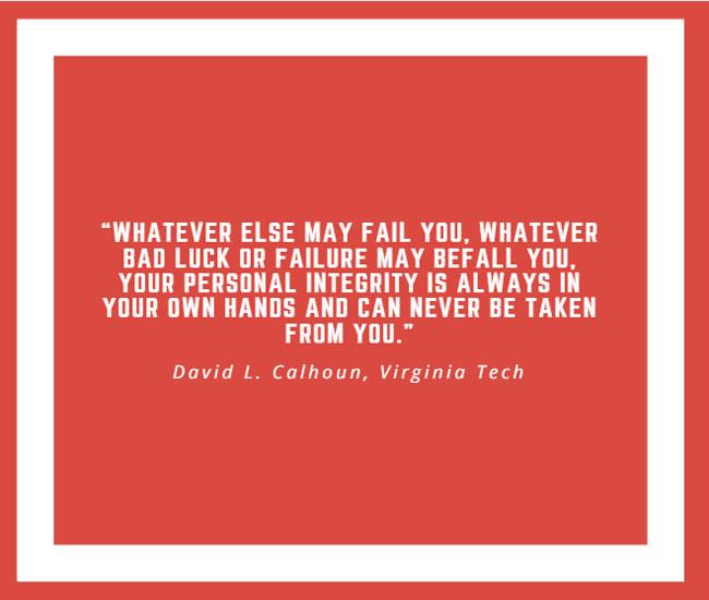 Inspiring Quote by David L. Calhoun