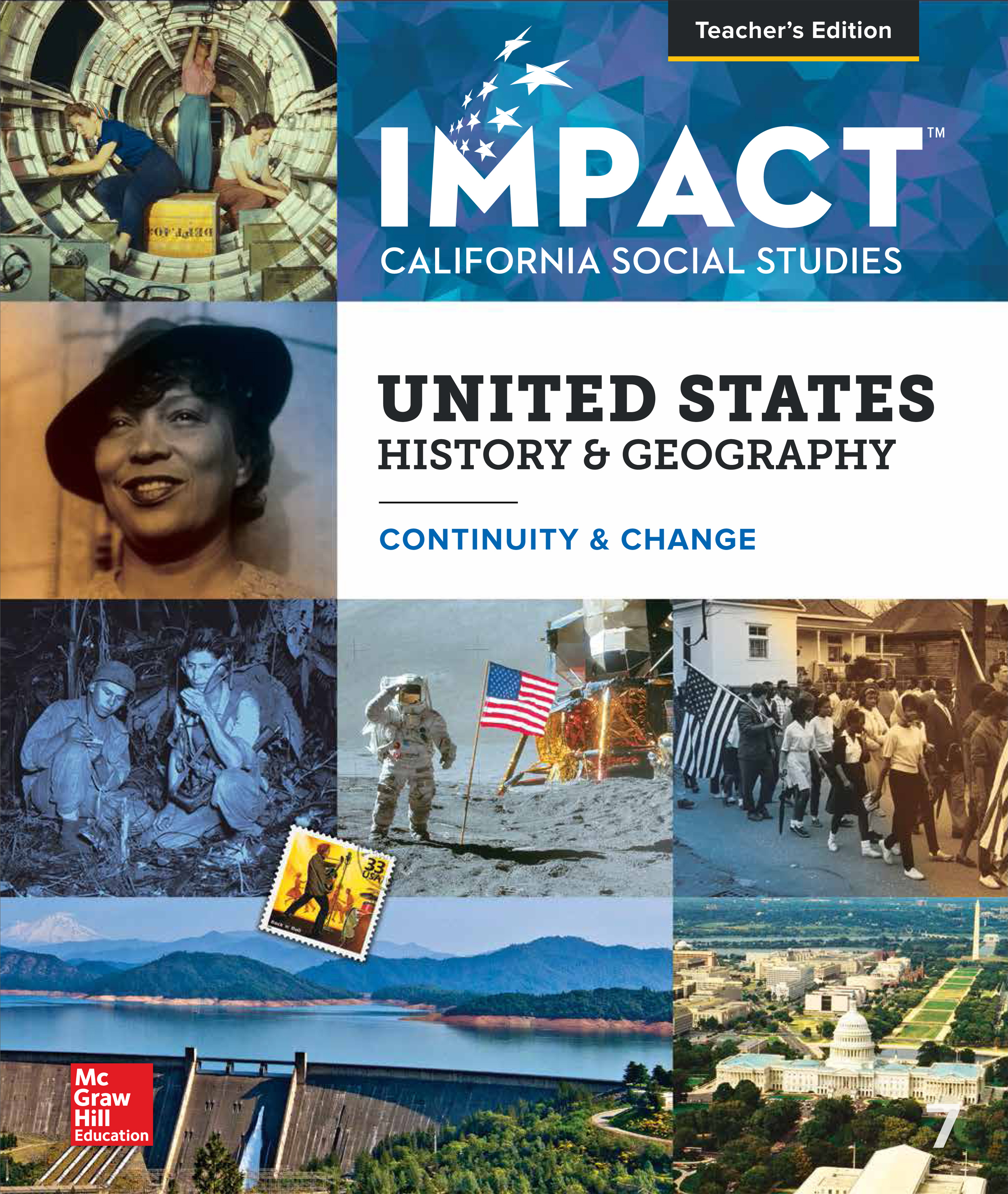 United States History & Geography: Continuity & Change Teacher's Edition cover