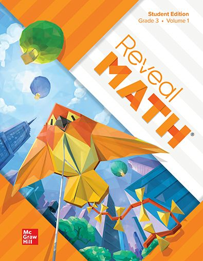 Reveal Math Volume 1 textbook for Grade 3 students