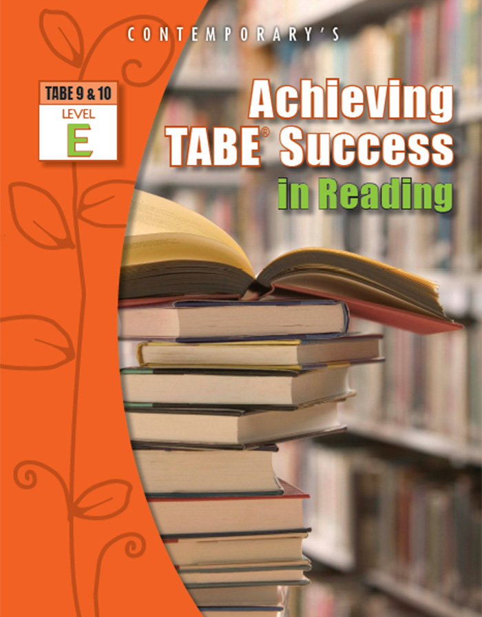 Achieving TABE Success in Reading cover