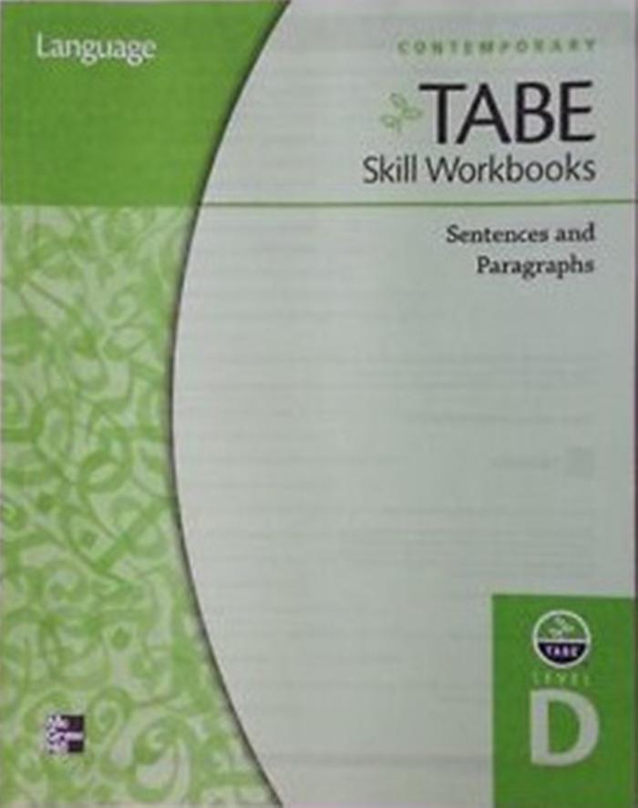 TABE Skills workbook cover
