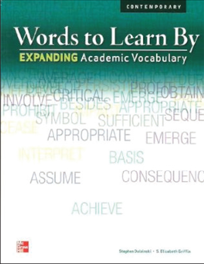 Words to Learn By cover