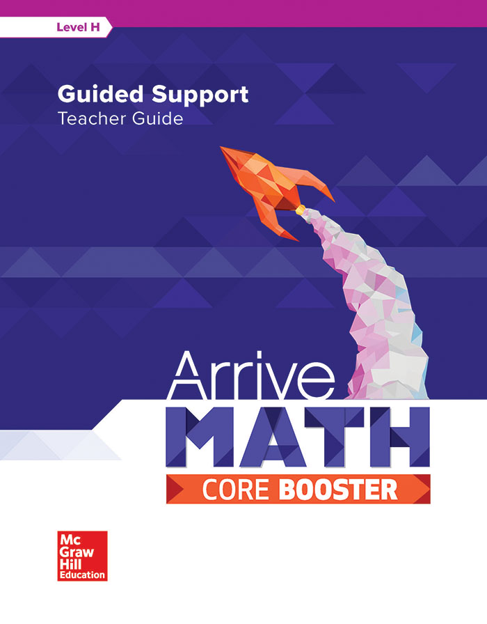 McGraw-Hill Arrive Math Core Booster teacher guide