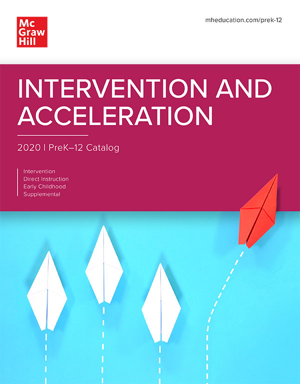 Intervention and Acceleration Catalog