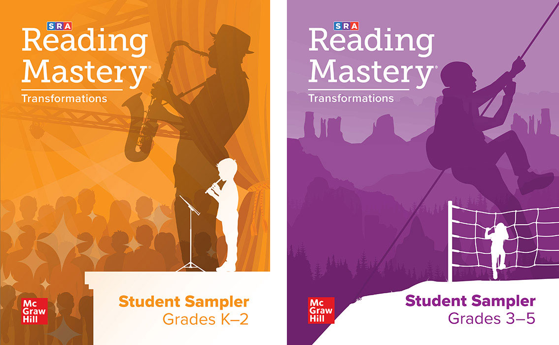 Reading Mastery Transformations Grade K-2 and 3-5 Samplers