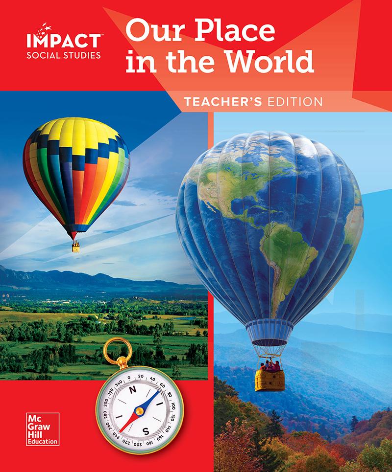 IMPACT Social Studies Teacher Edition cover
