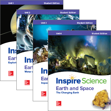 Inspire Science, Earth Science covers