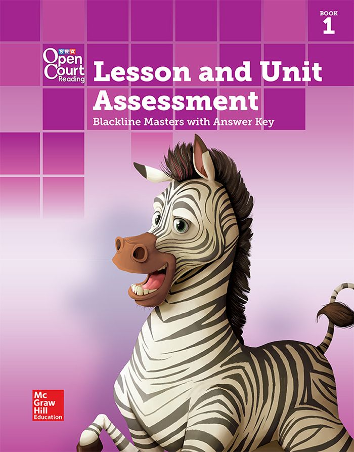 Lesson and Unit Assessment BLM with Answer Key