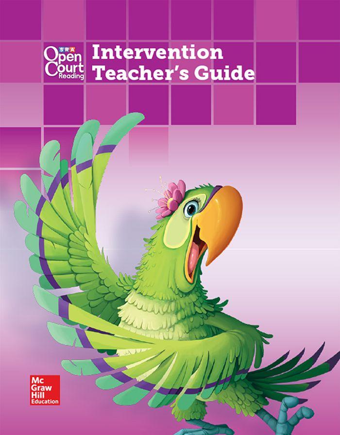 Cover of Grade 4 Intervention Teacher's Guide