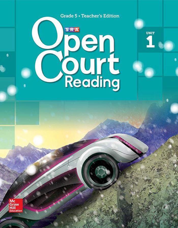 Cover of Grade 5 Student Anthology Reader