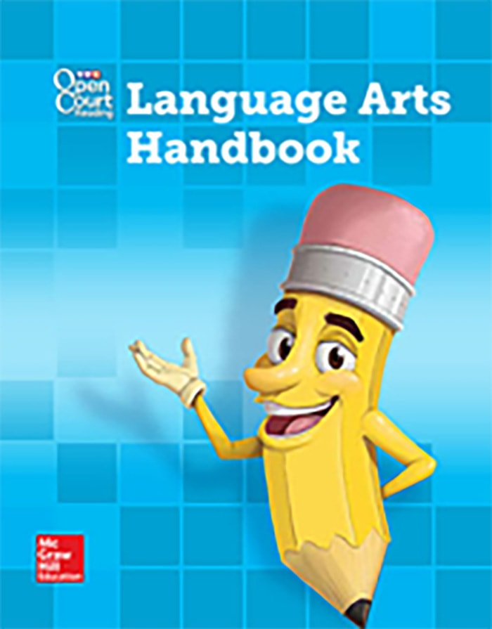 Cover of Grade 3 Language Arts Handbook