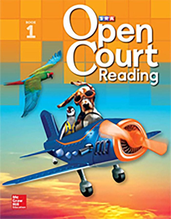 Cover of Grade 1 Student Anthology Reader