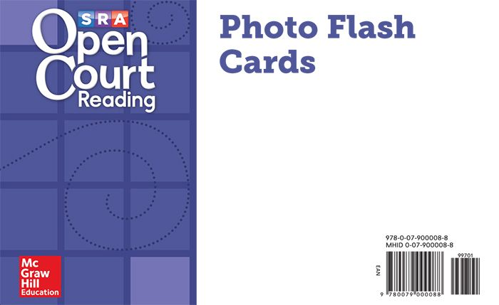 OCR Photo Flash Cards