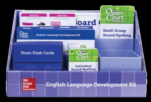 English Language Development Kit Box