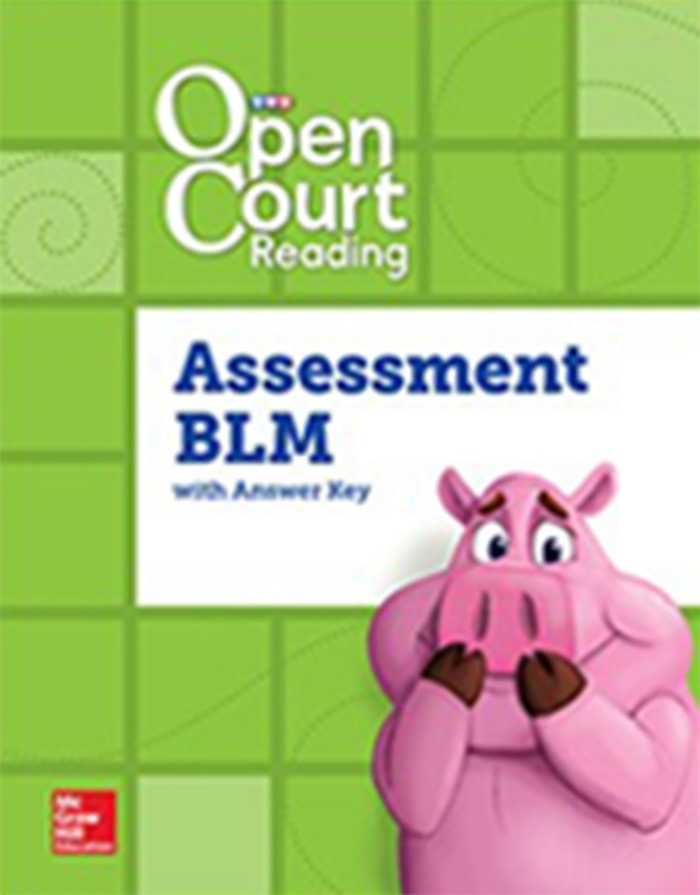 Cover of Grade 2 of Assessment BLM