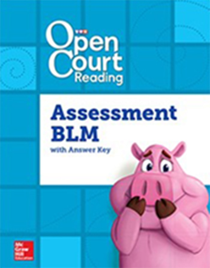 Cover of Grade 3 of Assessment BLM