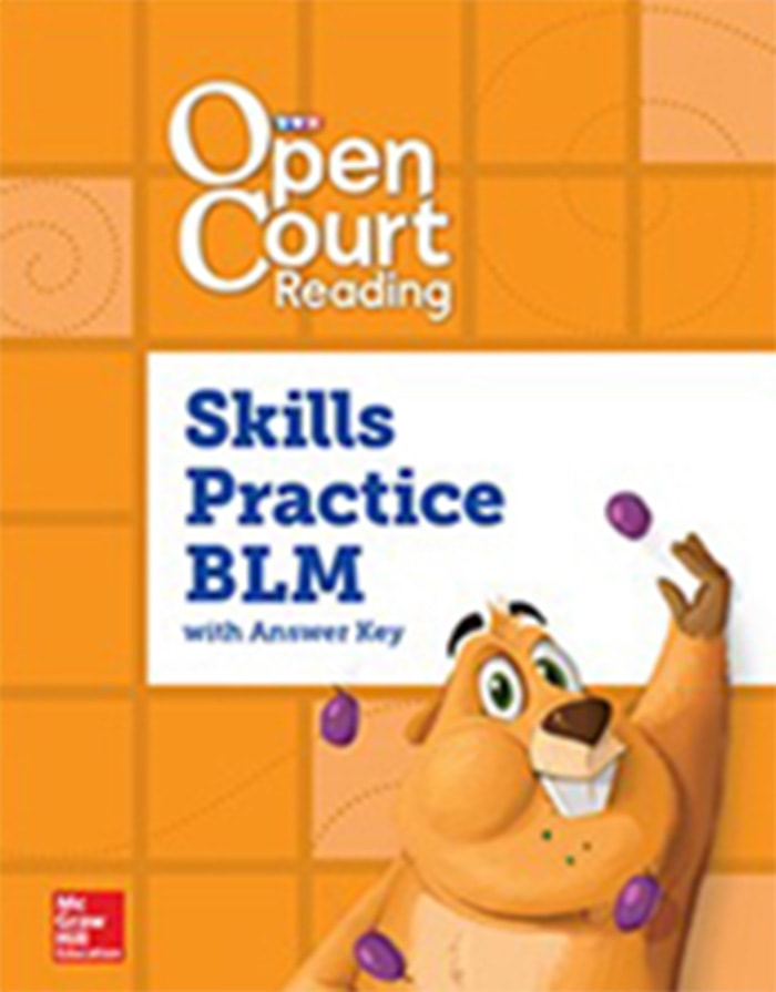 Cover of Grade 1 Skills Practice BLM with Answer Key