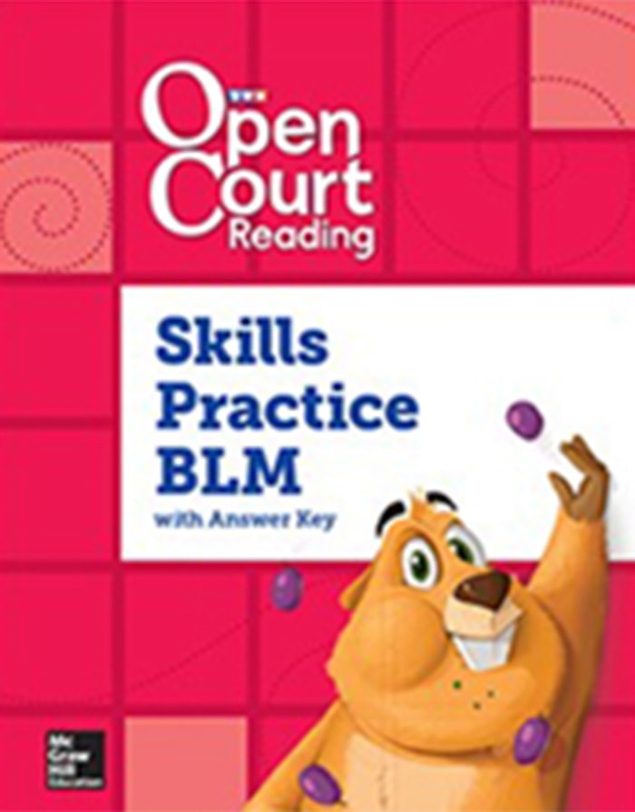 Cover of Grade K Skills Practice BLM with Answer Key