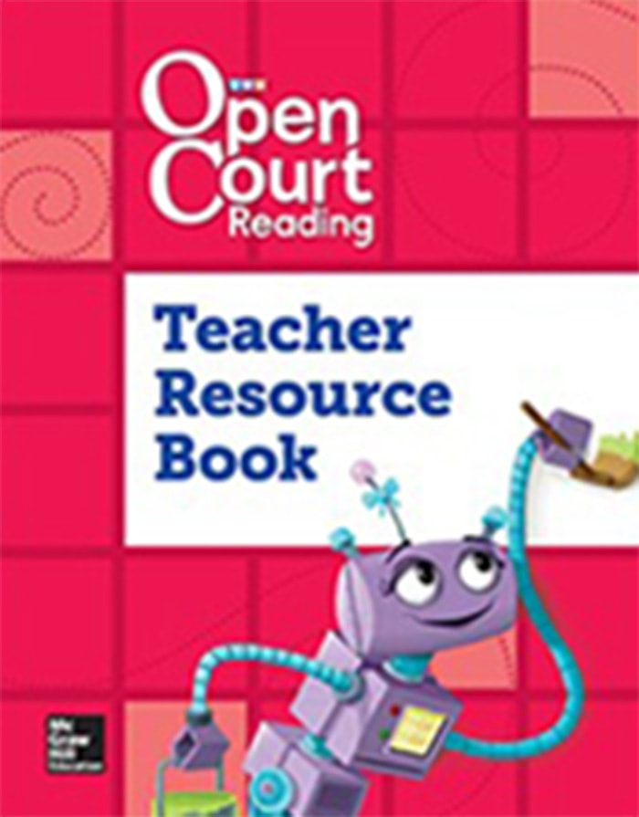 Cover of Grade K Teacher Resource Book