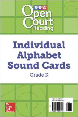 Cover of Grade K Alphabet Sound Cards