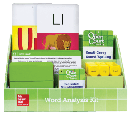 Components of Grade 4 Word Analysis Kit