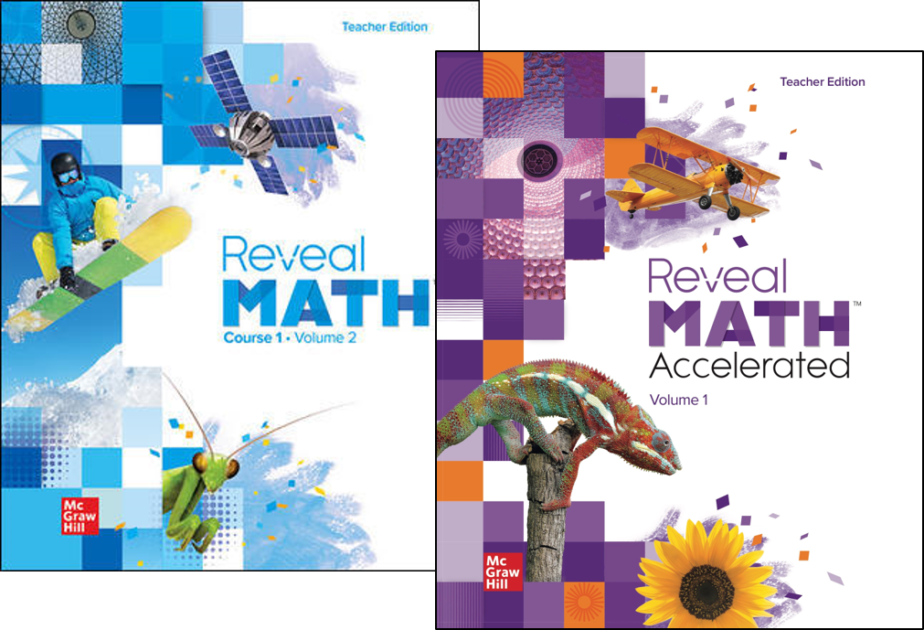 Reveal Math covers