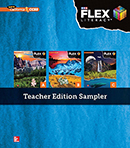 FLEX Literacy Teacher Edition Sampler cover, Elementary