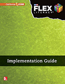 FLEX Literacy Implementation Guide cover, Secondary
