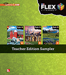 FLEX Literacy cover Teacher Edition Sampler cover, Secondary