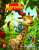 Maravillas Literature Anthology cover, Grade 1