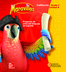 Maravillas Teacher Edition cover, Grade 1