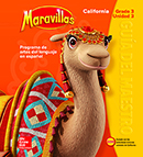 Maravillas Teacher Edition cover, Grade 3