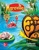 Maravillas Reading/Writing Worshop cover, Grade K
