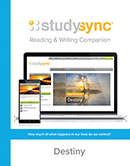 StudySync Reading/Writing Companion cover, Grade 10