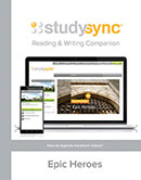 StudySync Reading/Writing Companion cover, Grade 12